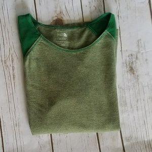The North Face Green Long Sleeve Shirt